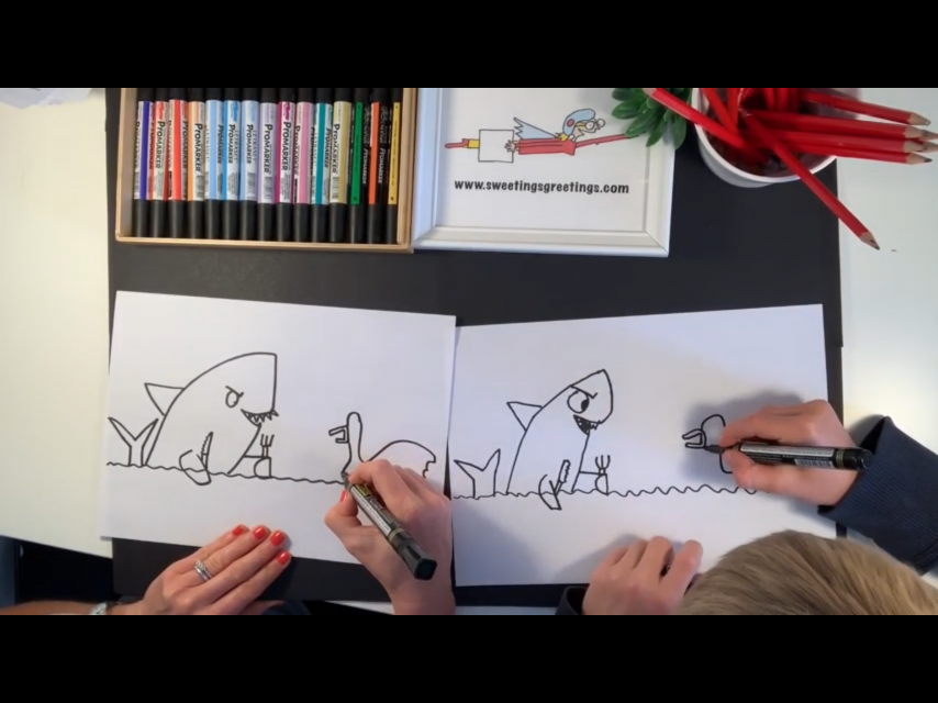 How to draw…