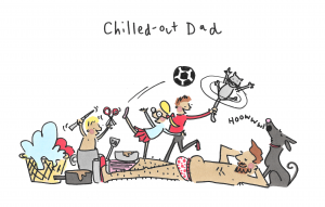 Chilled-out Dad scan