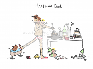 Hands on Dad scan