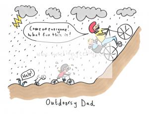Outdoorsy Dad scan