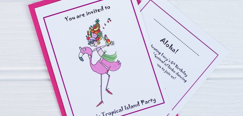 …eye-popping invitations…