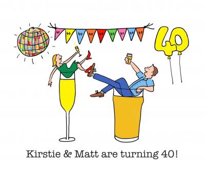 Kirstie and Matt